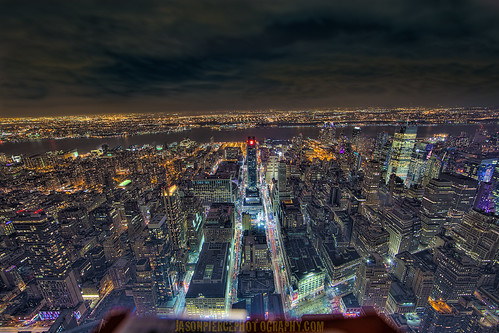 NYC from above | by Jason Pierce Photography