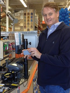 John Donahoe paying with PayPal at Home Depot | by ebayink