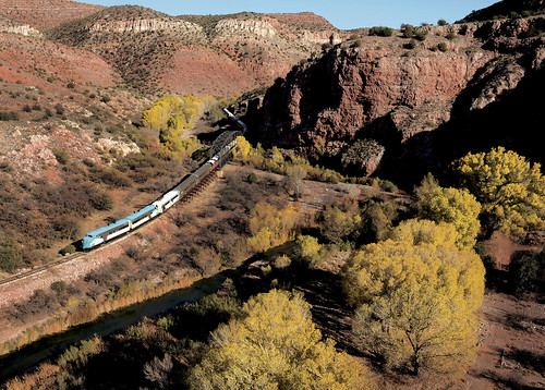Tom Johnson Fall 2011 helicopter 053 | by Verde Canyon Railroad