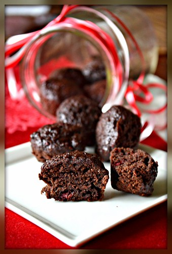 Double Berry Truffle Brownies | by Singerinkitchen