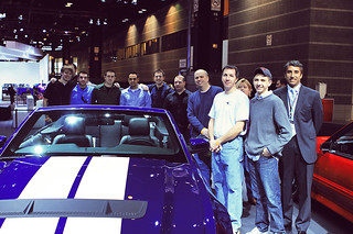 Caffeine & Cobras Event At Chicago Auto Show | by Ford Motor Company