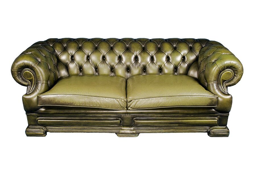 Admirable Dellbrook Style Chesterfield Another Lovely Green Leather Onthecornerstone Fun Painted Chair Ideas Images Onthecornerstoneorg