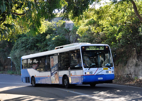 Sydney Buses - Volvo 3877 (Route 143, Manly via Military R… | Flickr