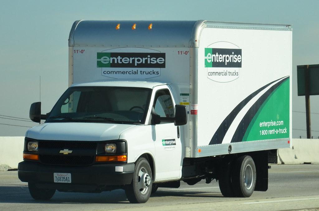 Enterprise Commercial Trucks Chevy Moving Van Navymailman Flickr