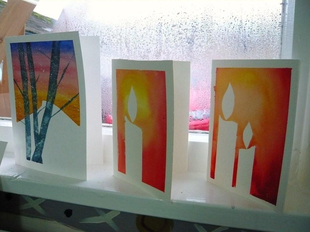 Handpainted Watercolour Christmas Cards   Watercolour Xmas C…   Flickr