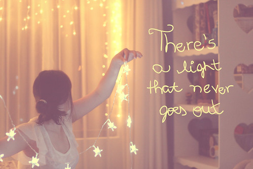 348/365 there's a light that never goes out ♥ | by Honey Pie!