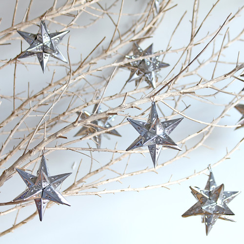 Stars we decided not to get a tree this year so i - Faire des guirlandes de noel ...