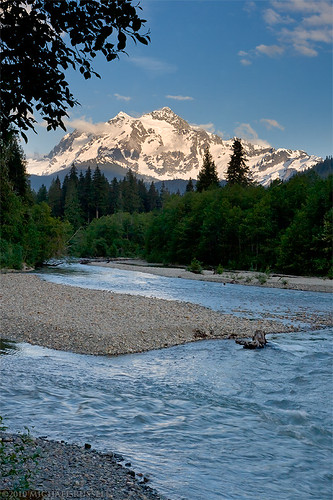 Mount Shuksan and the Nooksack River | by Michael S. Russell