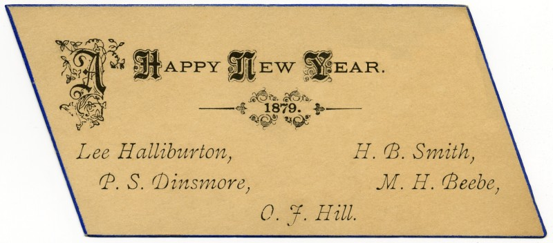 a happy new year 1879 by alan mays