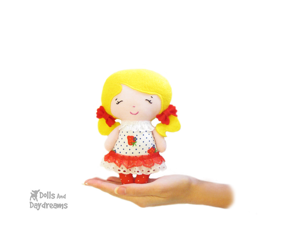 small doll sewing pattern kawaii pocket size tiny tot by d… | Flickr