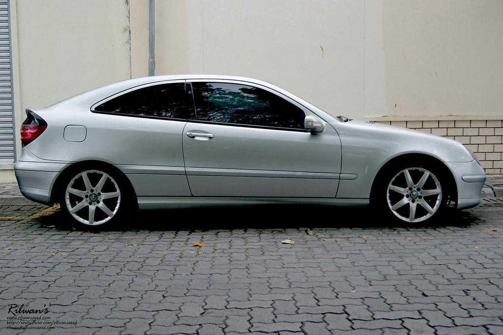 mercedes benz c200 kompressor sport coupe | rilwan's | flickr