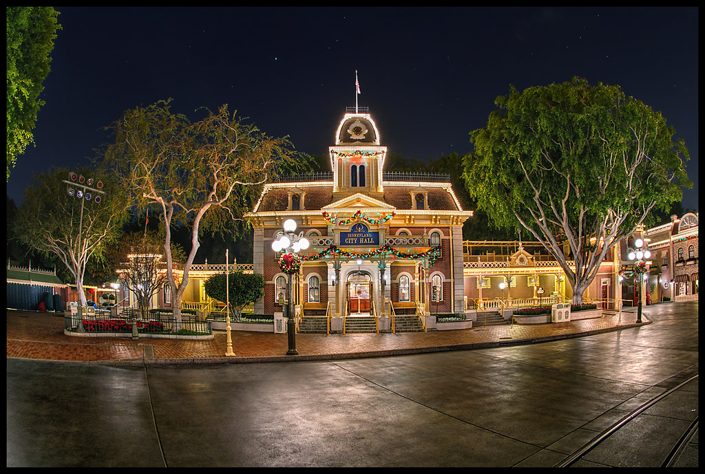 Holidays At City Hall Disneyland The Disney Parks Are Ce Flickr - What city is disneyland in