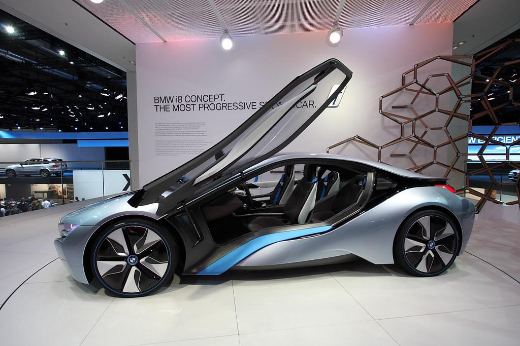 BMW i8 Concept - IAA 2011 Frankfurt | Chen Wu | Flickr
