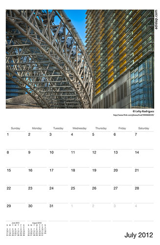 ADIDAP Calendar 2012 US July | by akhater