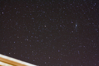 2 Galaxies above my roof | by CJ Isherwood