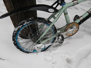 Davdison BMX in the snow | by egocyclic