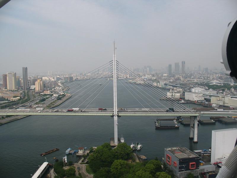 Osaka, View from Tempozan Ferris Wheel
