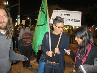 Demonstrators in the International Day for the Elimination of Violence against Women in Tel Aviv | by Coalition of Women for Peace
