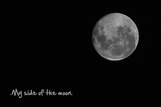 .my side of the moon. | by .. Ro ♥
