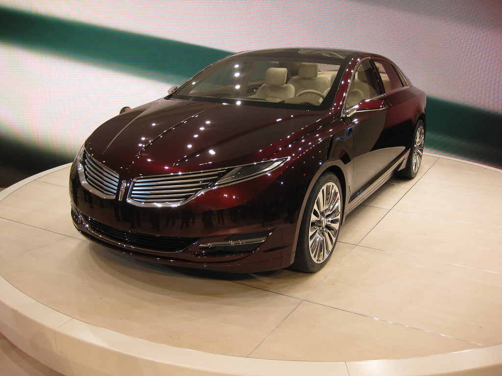 Lincoln MKZ Concept at NAIAS 2012 | For more info and images… | Flickr