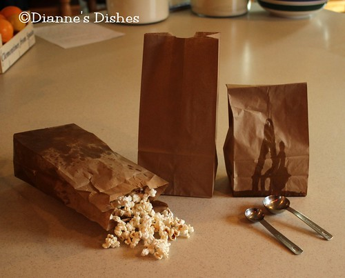Poor Man's Microwave Popcorn | by Dianne's Dishes
