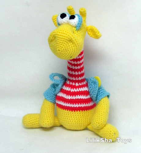 Amigurumi Lemon : Lemon giraffe. Amigurumi - Lemon giraffe. Height 28 cm ...