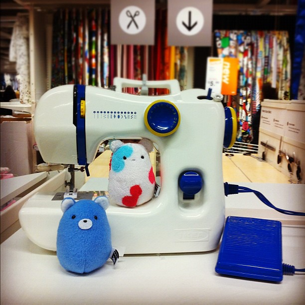 The Caveys This Ikea Sewing Machine Wwwheycavey Flickr Custom How To Use Ikea Sewing Machine