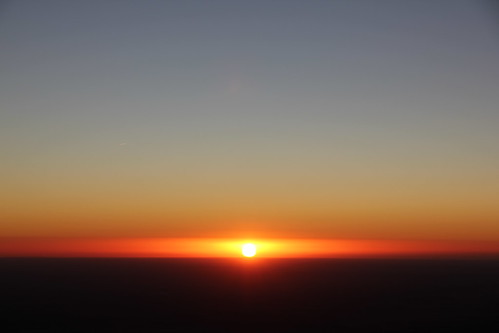 First sunrise of 2012 from Guadalupe Peak | by kittell
