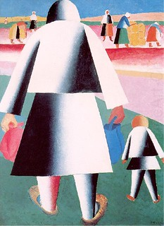 Malevich, Kazimir (1878-1935) - 1928-32 To Harvest (The Russian Museum, St. Petersburg, Russia) | by RasMarley