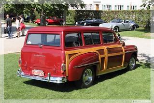 1950 Plymouth Suburban Woody Station Wagon 02 Plymouth