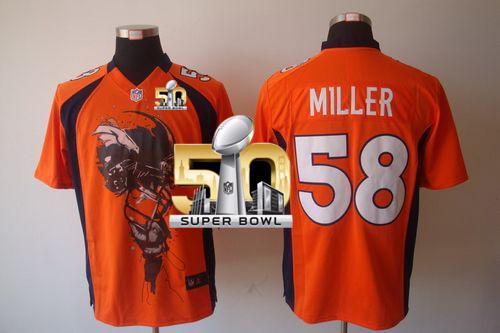 san francisco 0ddf4 83c04 Super Bowl 50 MVP - Von Miller Super Bowl championship Jer ...