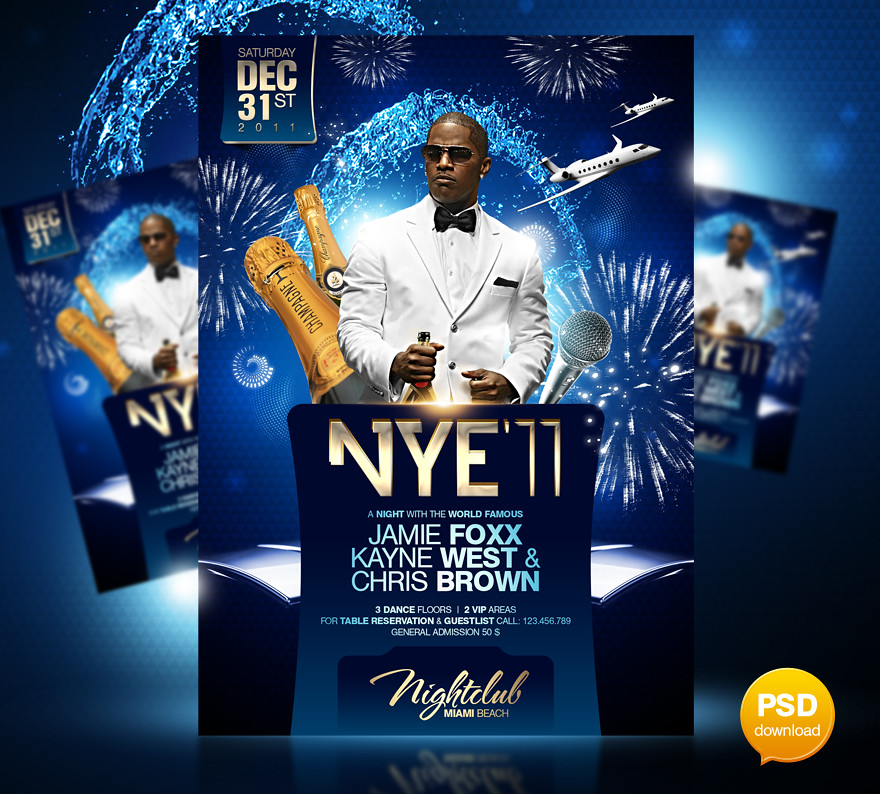 new years eve party flyer template big new year s eve part flickr