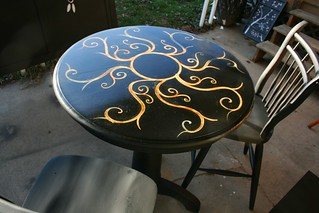 Pub Table and Chairs for Trisha in Detroit | by Rick Cheadle Art and Designs