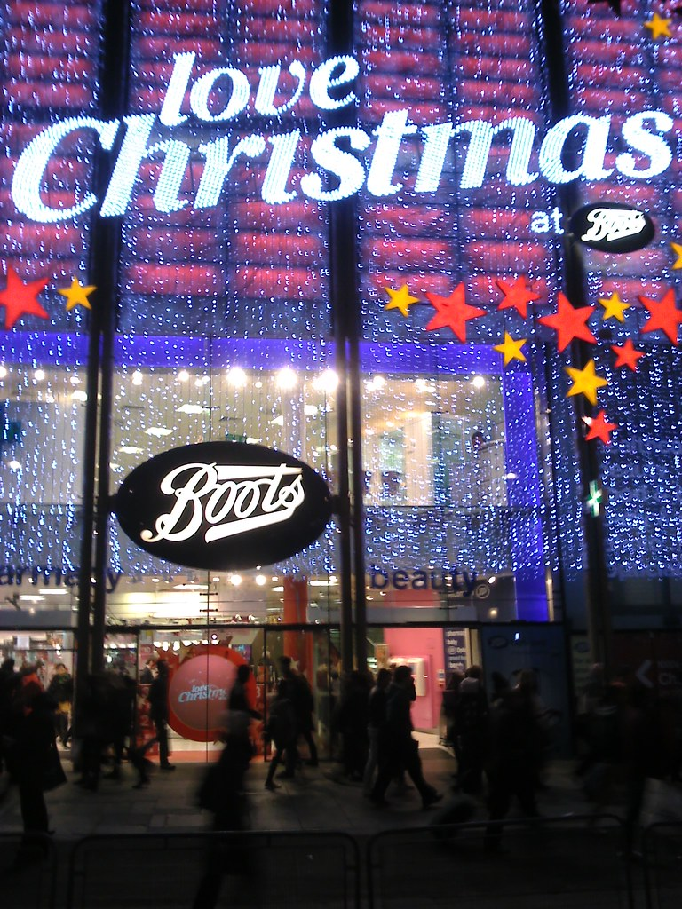 Christmas Lights Flickr Boots Hobbitbrain Oxford Street w41qT
