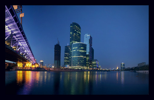 Moscow City in the night | by Fotorider(Andrey Belov)