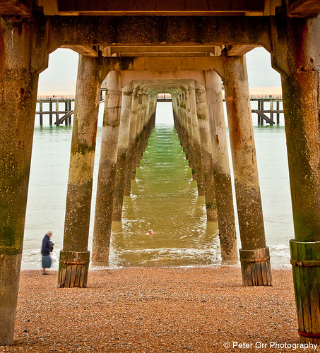 Under Deal Pier | by peter orr photography