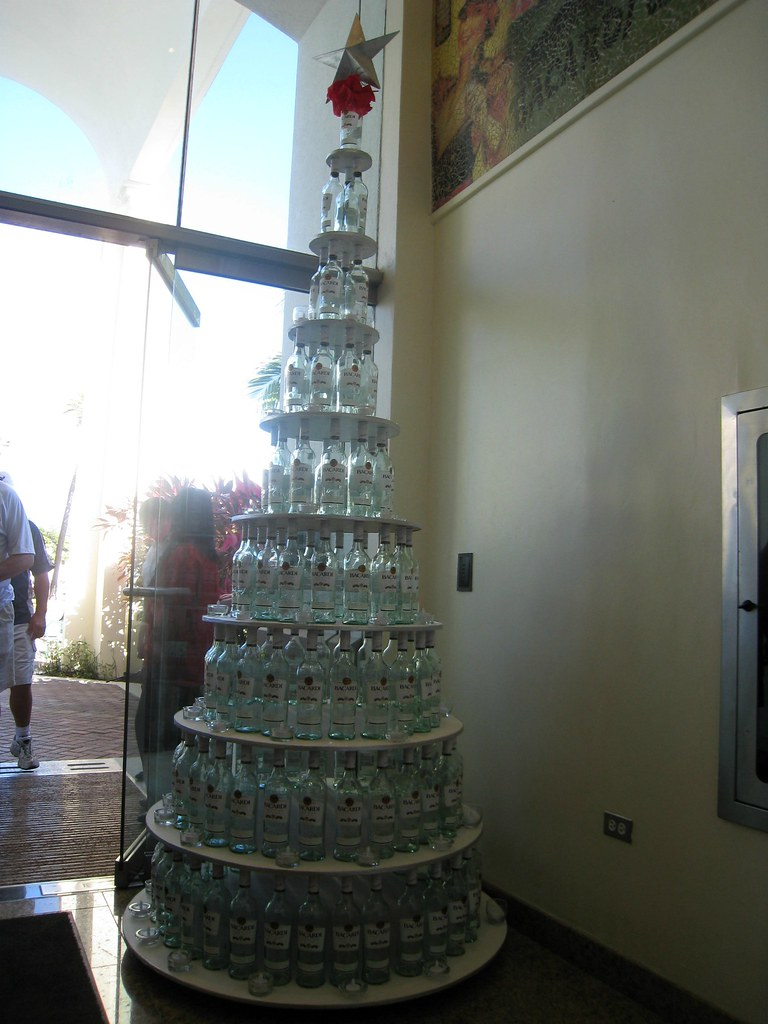 Bacardi Christmas tree | Nimrod Bar | Flickr
