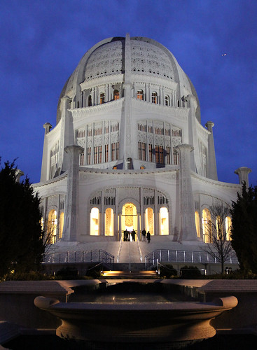 Bahai Temple - At Night | by Alka_007