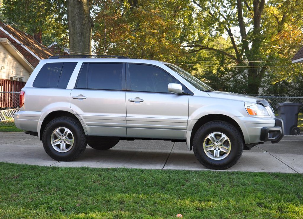 2005 Honda Pilot With Ready Lift 2in. Lift And 235 85 16u0027s!