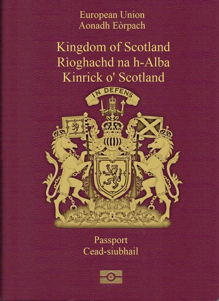 Image result for scottish passport