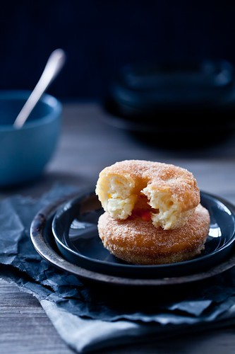 Apple Cinnamon Doughnuts | by tartelette