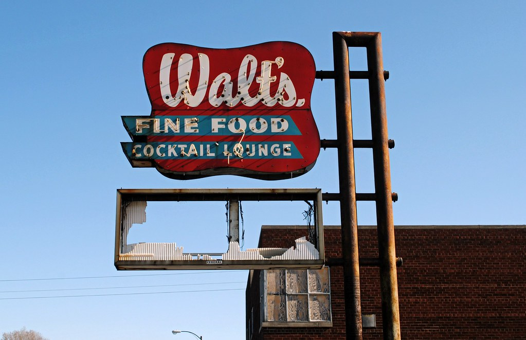 Walts Fine Food Gary Indiana Long Gone Us 20 Cragin Spring