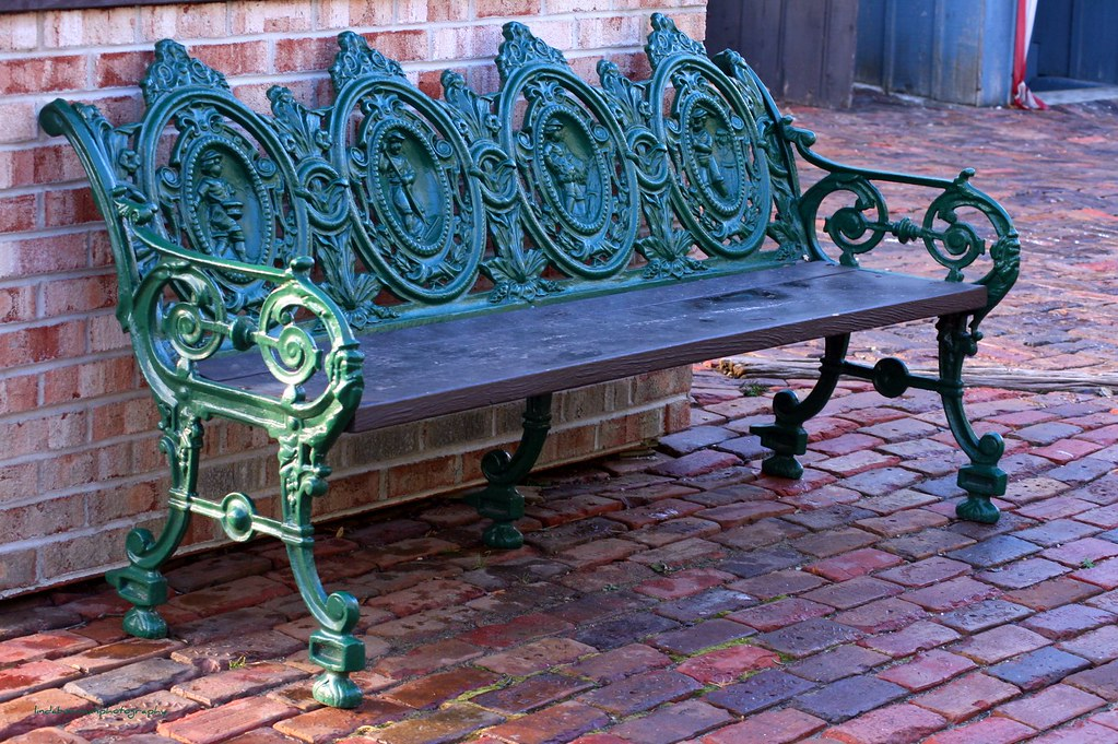 explore rod iron patio foter wrought bench benches