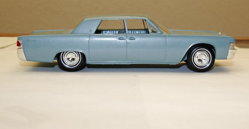 1965 Lincoln Continental Sedan Promo Model Car Huron Blu Flickr