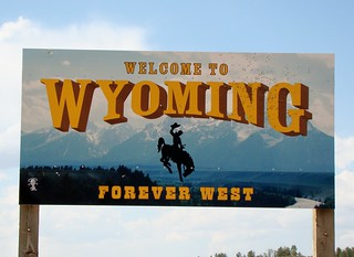 WY, Weston County-U.S. 16 Wyoming Welcome Sign | by Alan C of Marion,IN
