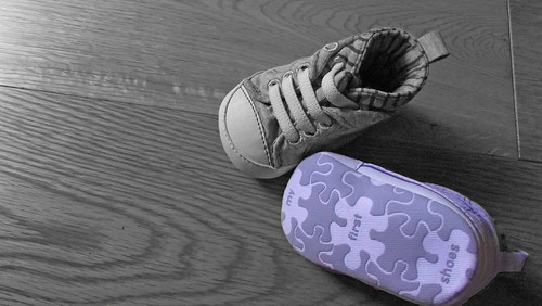first shoes | by Darren Chadwick (Getty Contributor)