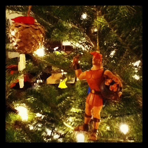 I'll bet _your_ Christmas tree doesn't have Hercules! | by Mica_R