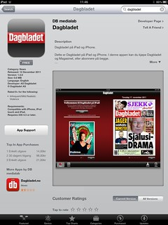 Dagbladet for iPad | by Leif (Bryne)