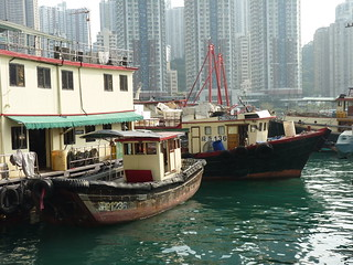 Fish Transport Boats in Aberdeen Harbour, Hong Kong | by AC Studio