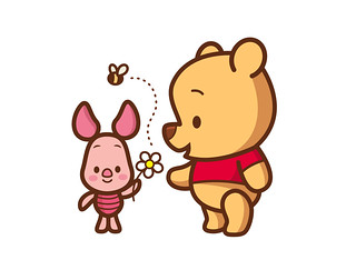 Pooh and Piglet | by Jerrod Maruyama